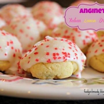Anginetti (Italian Lemon Drop Cookies)