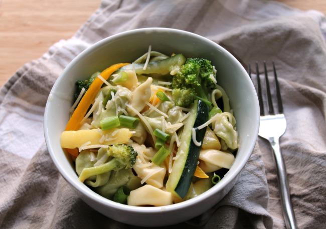 tortellini in bowl