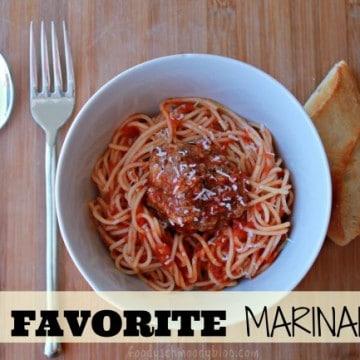 My Favorite Marinara
