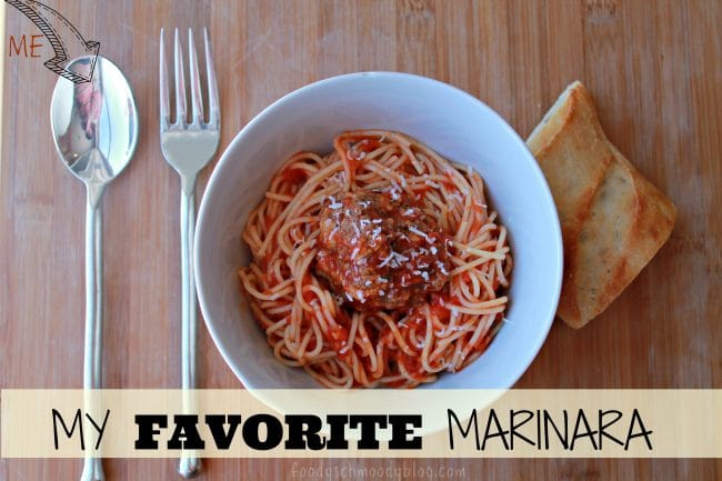 My Favorite Marinara