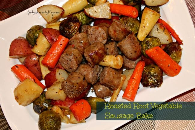 Root Vegetable Sausage Bake