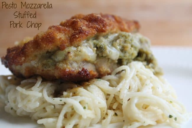 stuffed pork chops stuffed with pesto stuffed oven baked pork ...