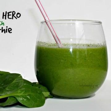 Super Hero Spinach Smoothie