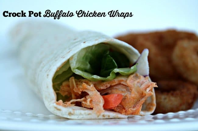 Crock Pot Buffalo Chicken Lettuce Wraps Recipes — Dishmaps