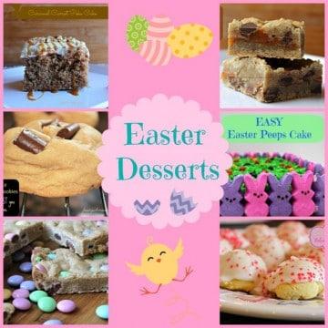 Easter Desserts Foodyschmoodyblog.com #easter #desserts
