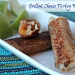 Grilled Cheese Turkey Roll Ups