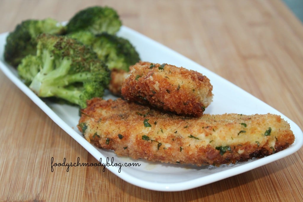 herbed chicken tenders foodyschmoodyblog.com #chicken #recipe