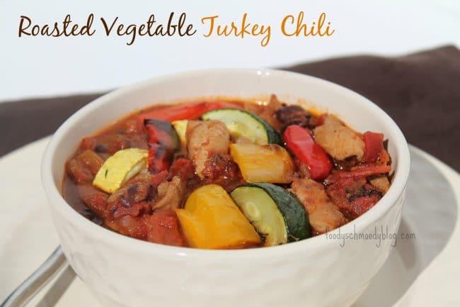 Roasted Vegetable Turkey Chili