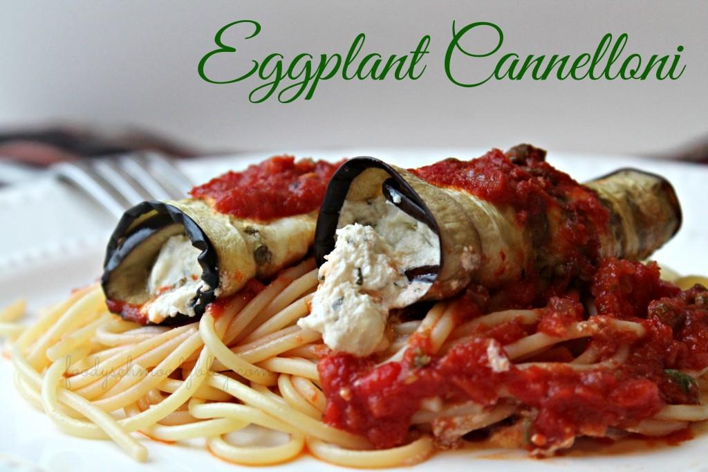 Eggplant Cannelloni - Foody Schmoody Blog | Foody Schmoody Blog