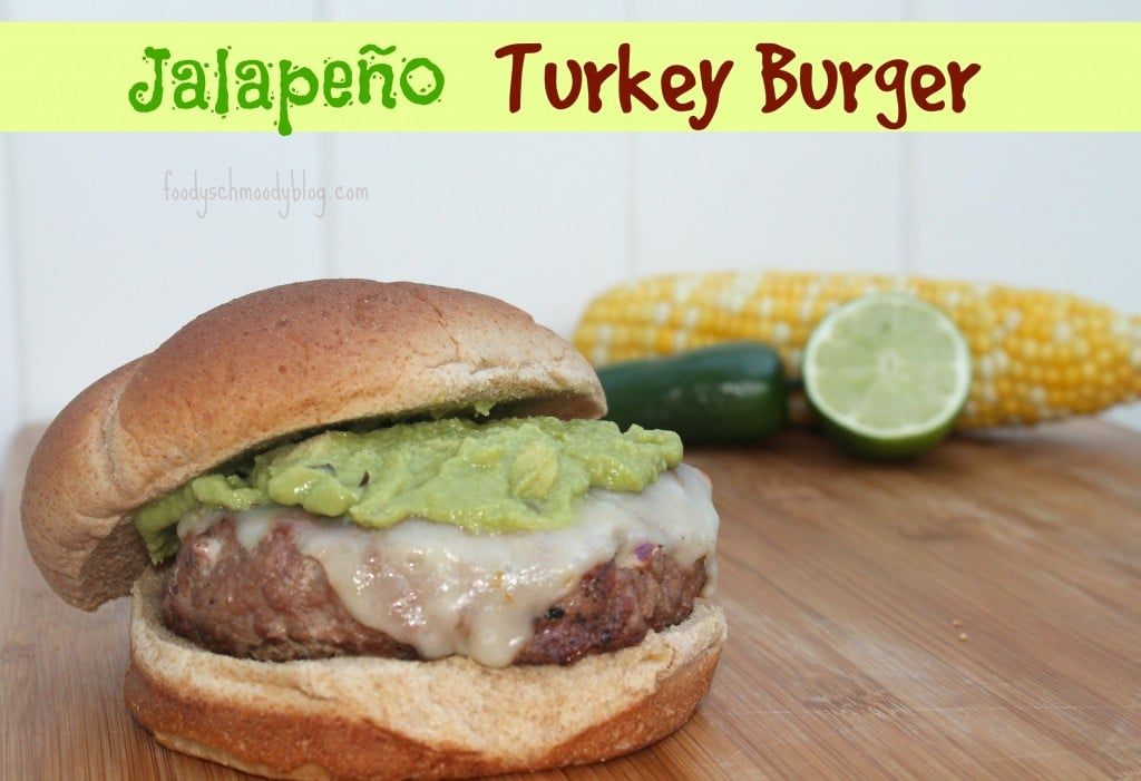 jalapeño turkey burger