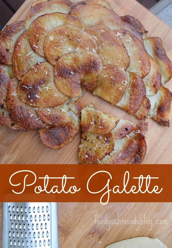 Potato Galette #sidedish foodyschmoodyblog.com