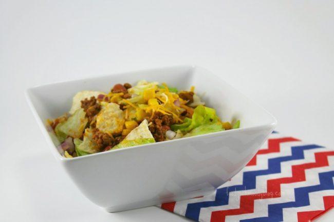 Layered Ranch Taco Salad
