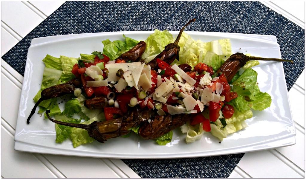 Grilled Eggplant Salad - Foody Schmoody Blog | Foody ...