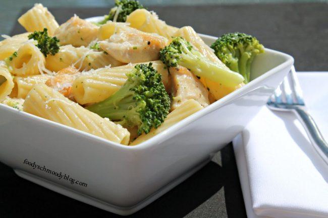 chicken broccoli ziti by foodyschmoodyblog.com #chicken #pasta #broccoli #restaurantrecipe #recipe