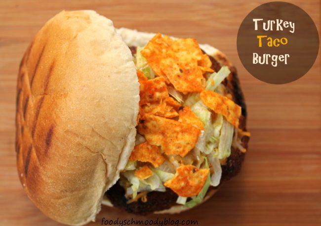 Turkey Taco Burgers by foodyschmoodyblog.com