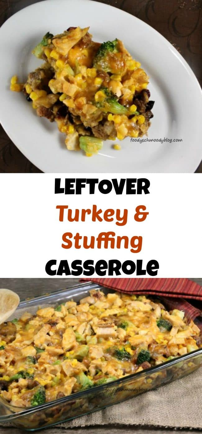 LEFTOVER Turkey & Stuffing Casserole - Use up your Thanksgiving Leftovers!