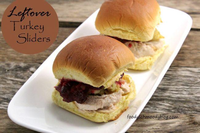 Leftover Turkey Sliders