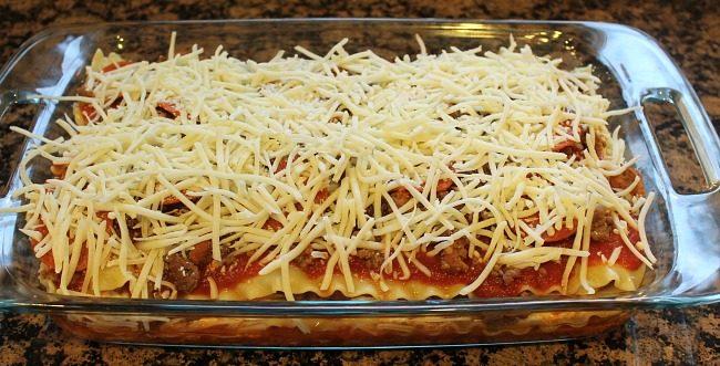 Meat Lovers Lasagna