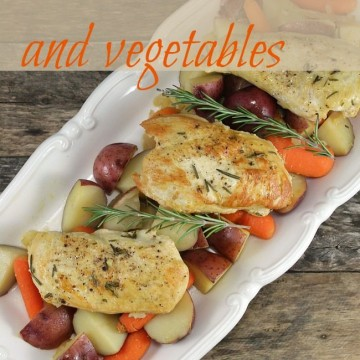 One Pot Chicken and Vegetables