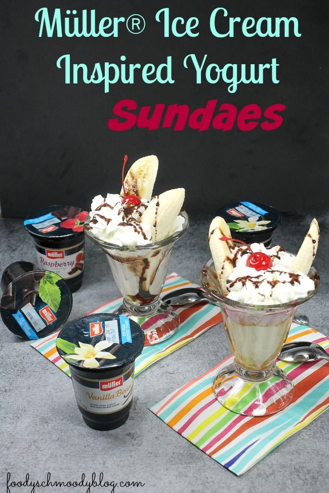 Müller® Ice Cream Inspired Yogurt Sundaes – Sundae cups made less ...