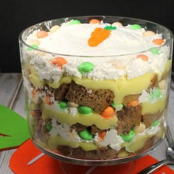 M&M's® Carrot Cake Trifle ##MMsCarrotCake #ad #CollectiveBias