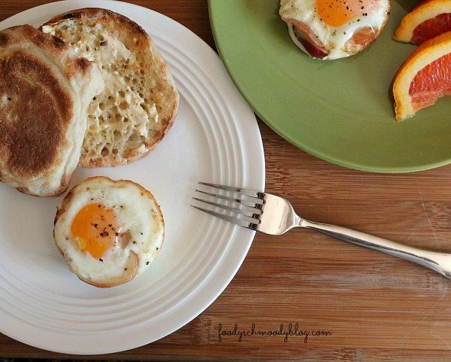 Baked Pancetta Egg Cups