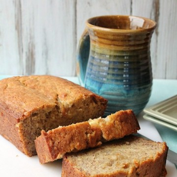 Banana Bread with Finlandia Butter