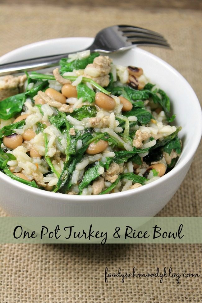 One Pot Tukey and Rice Bowl