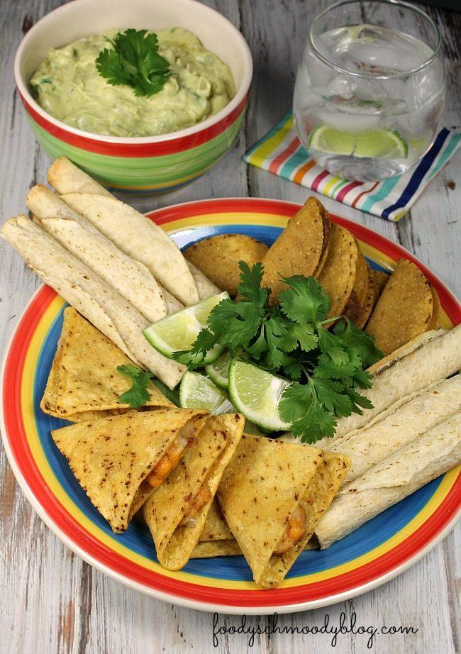 Easy Tangy Guacamole Dip Foody Schmoody Blog