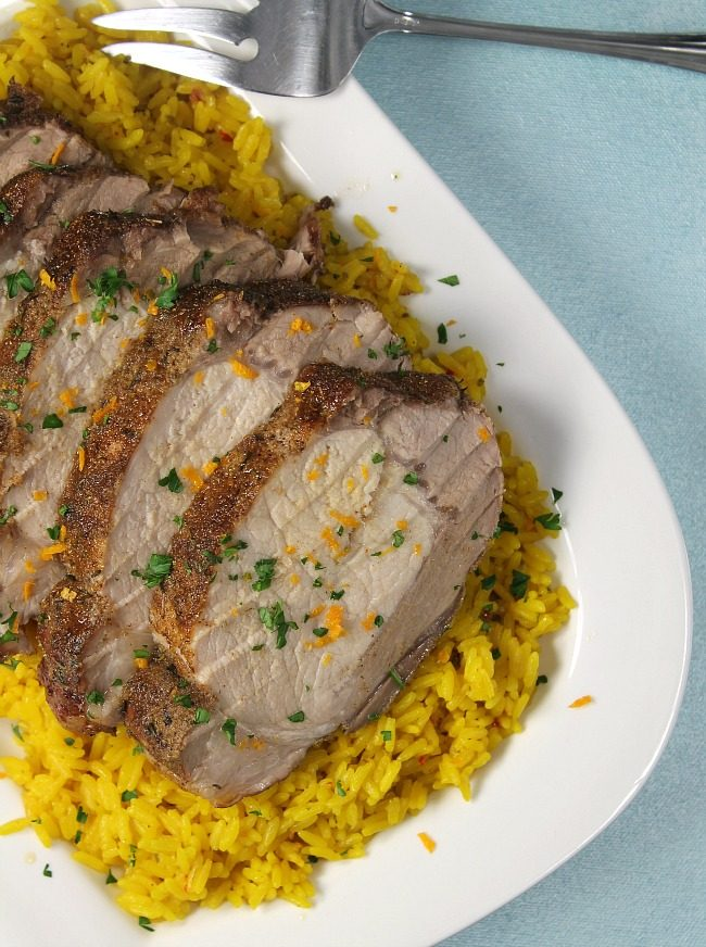 Spice-Rubbed Roast Pork Loin Recipe — Dishmaps