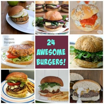 24 Awesome Burgers