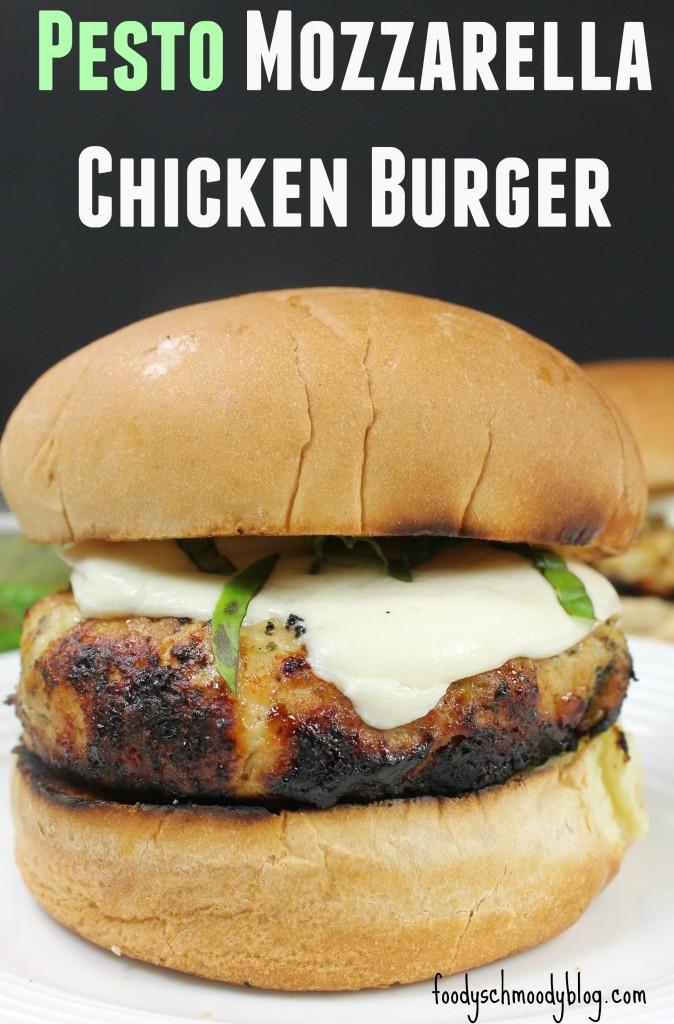 Pesto Mozzarella Chicken Burger - Foody Schmoody Blog | Foody Schmoody ...