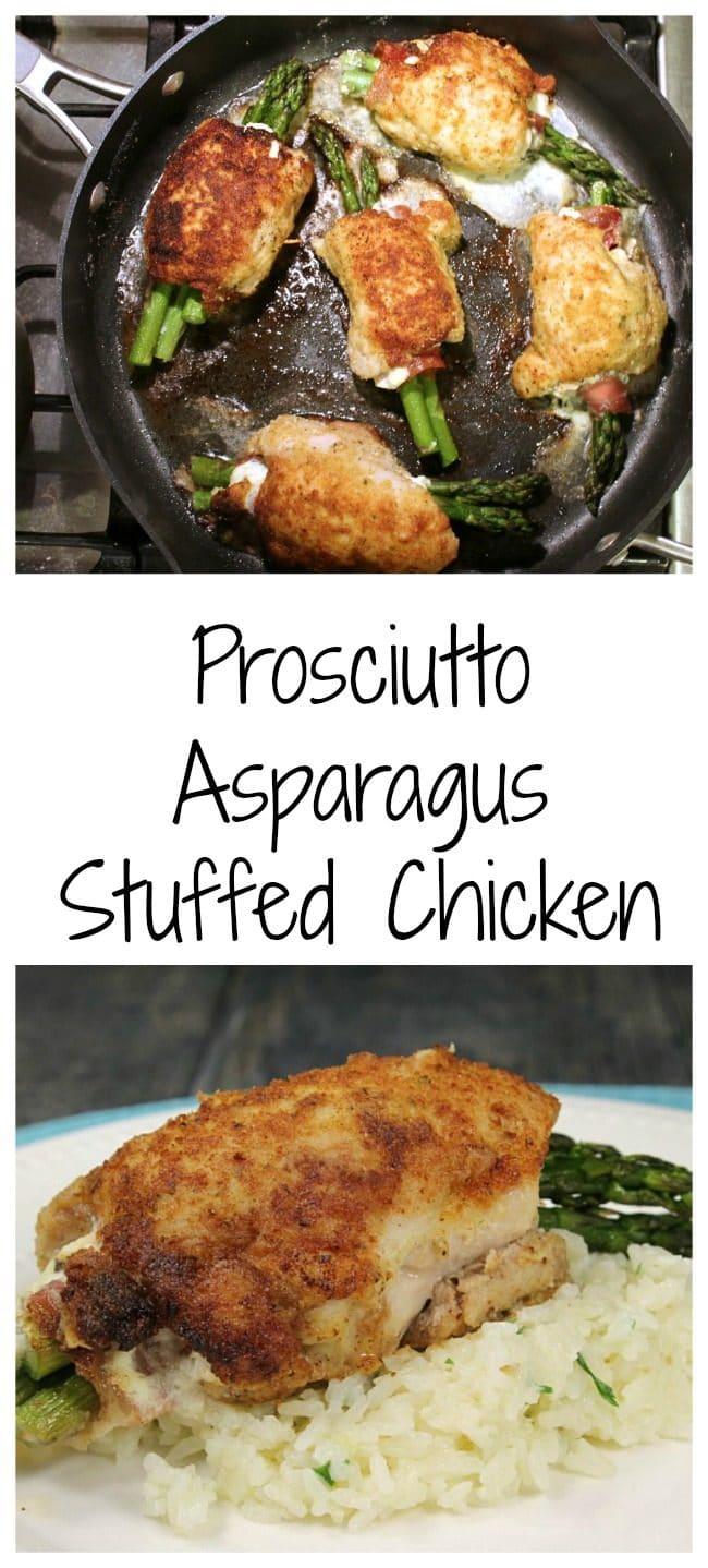 Prosciutto Asparagus Stuffed Chicken Foody Schmoody Blog Foody Schmoody Blog