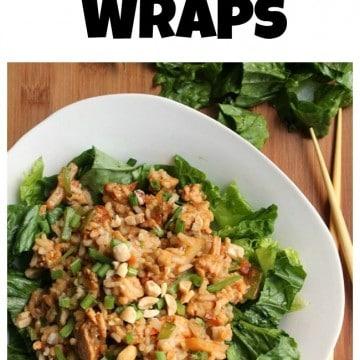 Deconstructed Lettuce Wraps