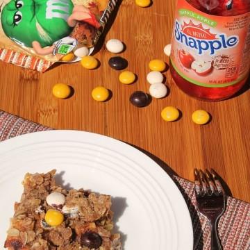 Easy Apple Crisp featuring M&M's® Pecan Pie