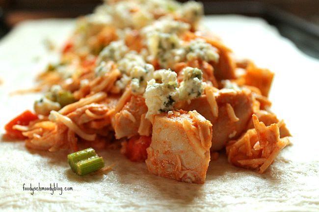 Buffalo Chicken Stromboli - Foody Schmoody Blog | Foody Schmoody Blog