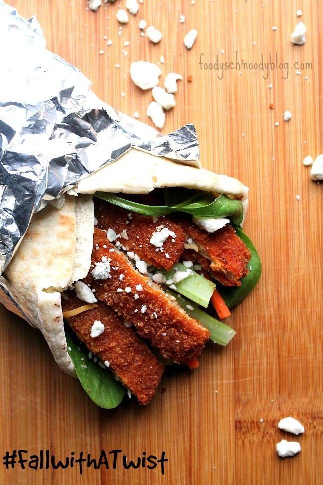 Morningstar Farms Buffalo Chik Patty Wraps Foody Schmoody Blog