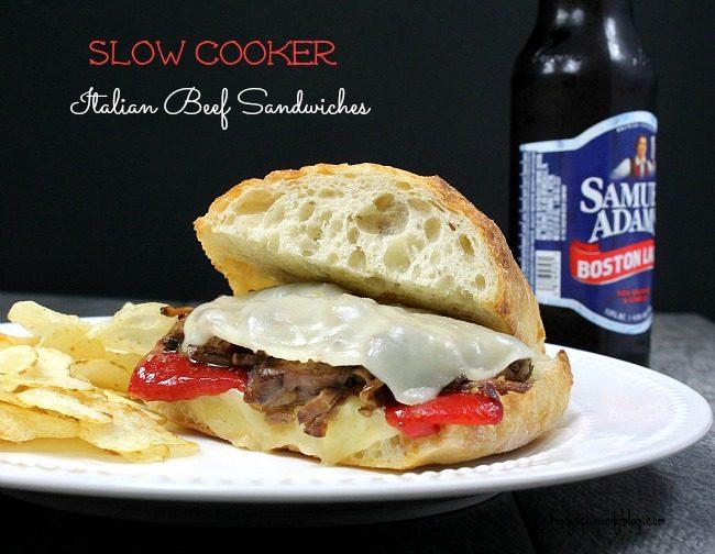 Slow Cooker Italian Beef Sandwiches - Foody Schmoody Blog ...