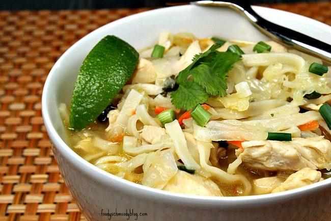 Thai Chicken Soup - Foody Schmoody Blog | Foody Schmoody Blog