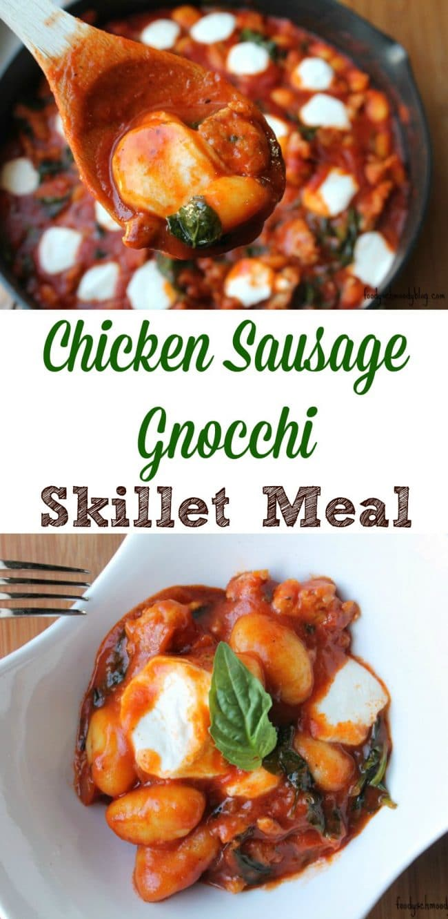 Chicken sausage gnocchi skillet meal viva bertolli foody chicken sausage gnocchi skillet meal viva bertolli forumfinder Image collections