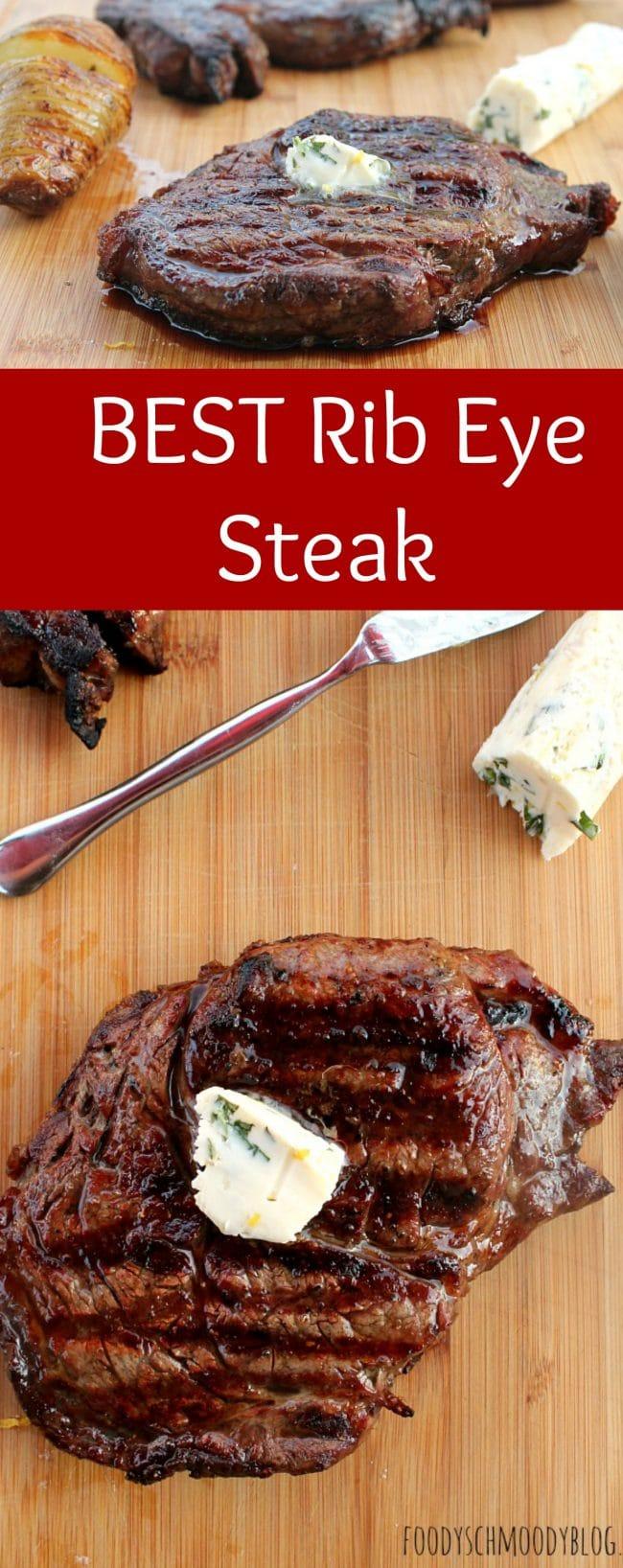 My Best Rib Eye Steak Recipe - Foody Schmoody Blog | Foody Schmoody ...