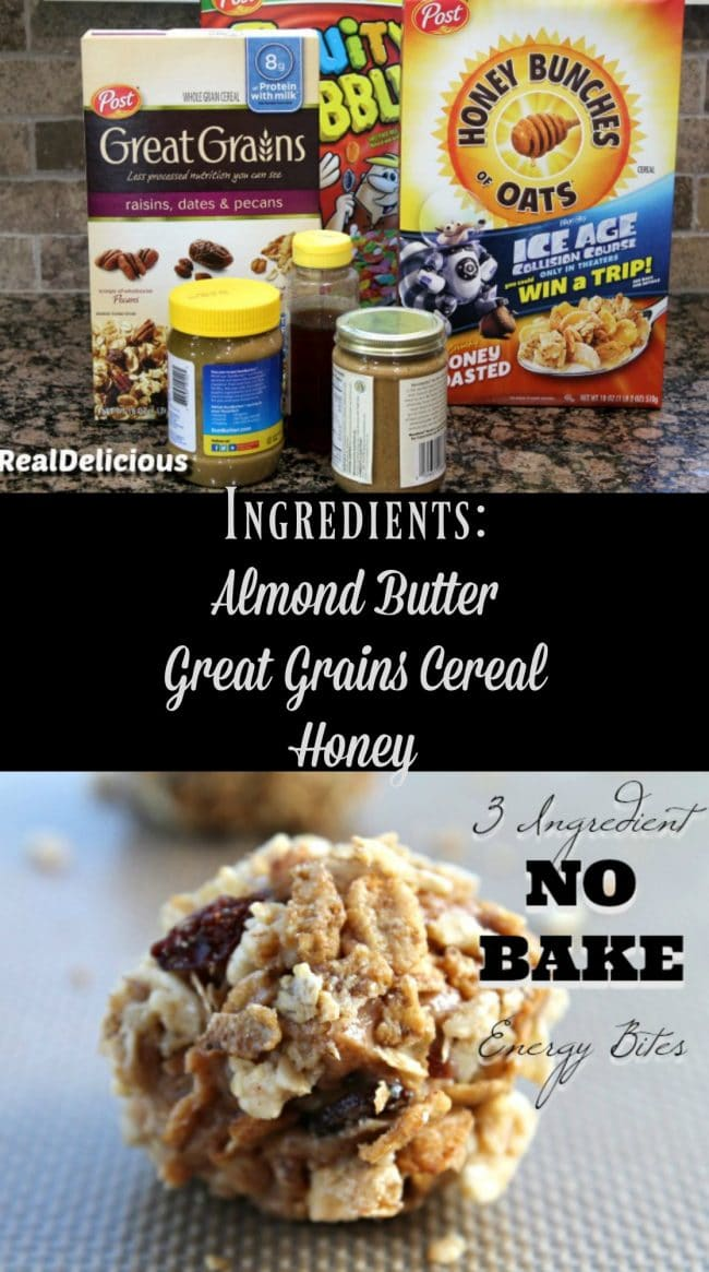 3 Ingredient No Bake Energy Bites Foody Schmoody Blog