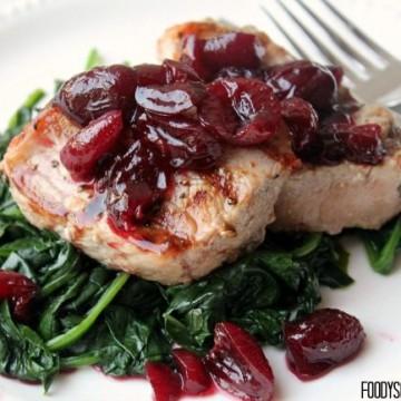 Balsamic Cherry Grilled Pork