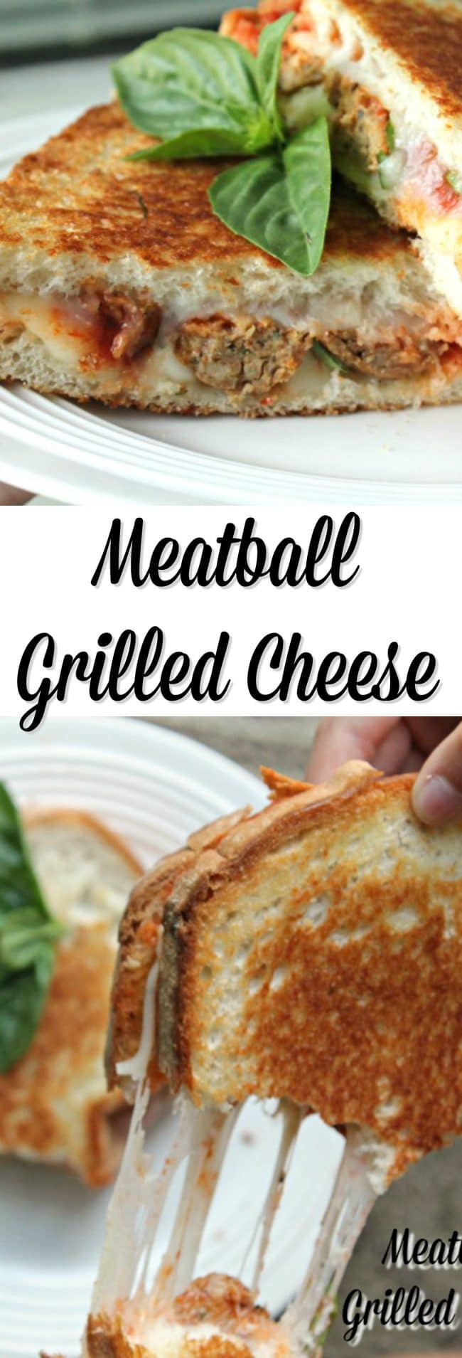 Meatball Grilled Cheese Sandwich - Foody Schmoody Blog | Foody ...
