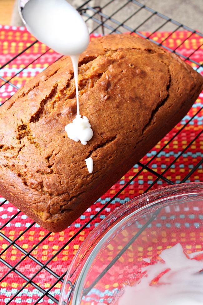 caramel macchiato pumpkin bread