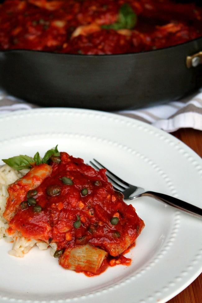 5 ingredient tuscan chicken