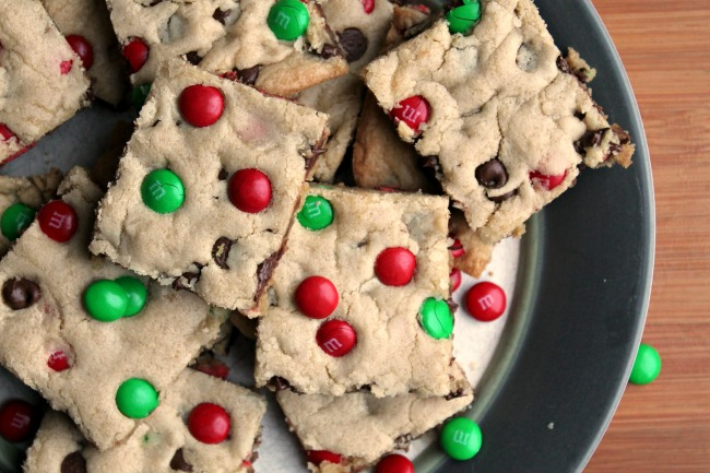 mm christmas cookie bars - Christmas Bar Cookies