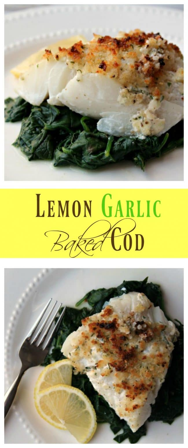 Lemon garlic baked cod foody schmoody blog foody for How to bake cod fish in the oven