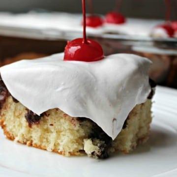 hot fudge poke cake