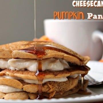 Cheesecake Pumpkin Pancakes